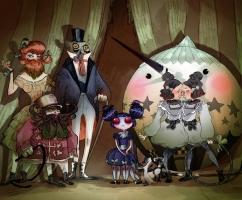 circus - Barbara Canepa, Aurélie Neyret et Guillaume Bianco